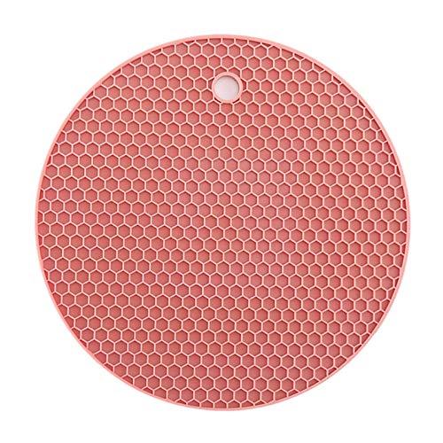 Mantel individual, agarradera, artículos básicos d Conjunto de 2 manteles, almohadilla de comedor occidental de silicona resistente a la temperatura antideslizante resistente a la temperatura para ais