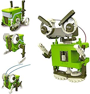 RC TECNIC Kit Robótica para niños Blocky 4 en 1 Robots para Montar   Juguetes Educativos