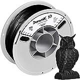 DURAMIC 3D PETG Printer Filament 1.75mm Black, 3D Printing Filament 1kg Spool(2.2lbs), Non-Tangling Non-Clogging Non-Stringing Dimensional Accuracy +/- 0.05 mm