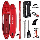 Aqua Marina Stand Up Paddle Board Monster 366 x 84 cm SUP hinchable (bote hinchable, canadiense, canadiense, canoa, canoa, canoa, tiempo libre, pesca, barco de remo, canadiense, río, lago)
