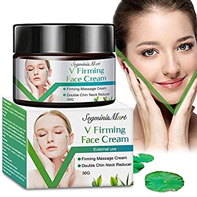 Face-Lifting Cream,V Face Cream,Resilience Lift Firming and Sculpting Face and Neck Cream,V-Shaped Facial Lifting Thin Face Anti-Ageing Cream Moisturizer