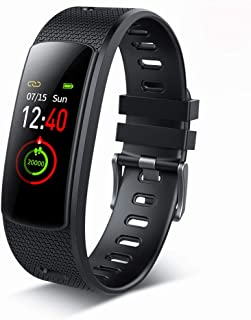 Fitness Tracker Watch, Heart Rate Activity Tracker Touch Color Screen IP67 Waterproof Sport Tracker Watch with Calorie Counter Pedometer Sleep Monitor for Kids Women Men