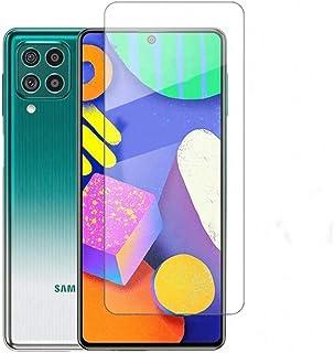 واقي شاشة FTRONGRT لهاتف Samsung Galaxy M62 ، صلابة عالية ، غير قابلة للكسر ، مقاوم للغبار ، سهل التركيب ، لجهاز Samsung G...