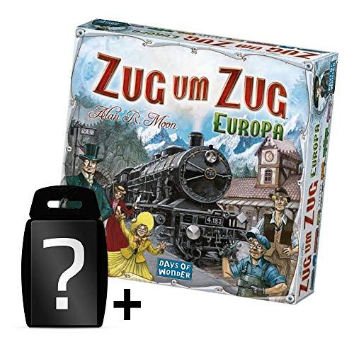 Zug um Zug - Europa - Grundspiel DE | Set inkl. Kartenspiel