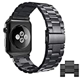 Simpeak Armband Kompatibel mit Apple Watch 44mm 42mm, Edelstahl Uhrenarmband Ersatz Armbnder mit...