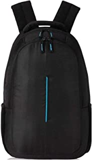 Singh Traders Store New Waterproof Laptop Bag/Backpack for School/College Guys (Black & Blue)
