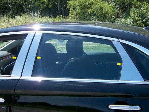 QAA fits 2013-2020 Cadillac XTS 6 Piece Stainless Pillar Post Trim PP53246