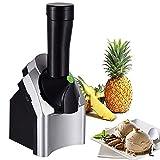 FMXYMC Máquina para Hacer Helados, Máquina automática para Hacer Helados de Frutas, Precongelación necesaria, Yogur congelado o Sorbete, Máquina para Hacer Helados de Frutas, Acero Inoxidable