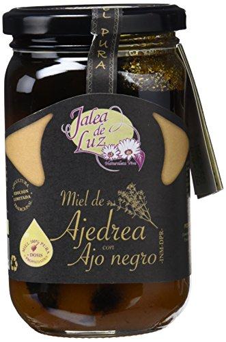 Jalea de Luz Miel de Ajedrea con Ajo Negro - 500 gr