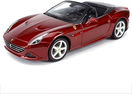 ganancia cero YaPin Model Car 1 24 Ferrari California Converdeible Converdeible Converdeible Original Simulación de Aleación de Coche Modelo de Colección de Coches Decoración Estática Modelo de Coche ( Color   Ferrari California Hood )  el mas de moda