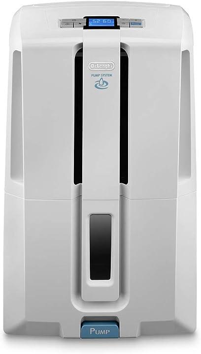 Tasciugo ariadry deumidificatore ambiente casa, 540 w, 30 litri, 51 decibel, plastica de`longhi dd230p 0148530201