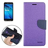 ALLSHOPSTOCK (#52) Color Matching Cross Texture Horizontal Flip Leather Case for Compatible with :...