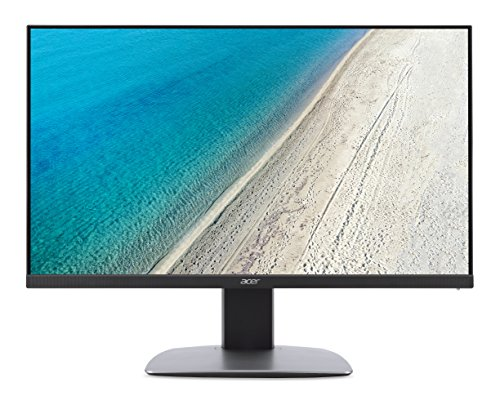 "Acer Monitor ProDesigner BM320 Monitor da 32"", Display IPS UHD (3840x2160), 16:9, Luminosità 300 cd/m2, 5 ms, DVI, HDMI 2.0, DP, mini DP, USB3.0, Speaker Integrati, Regolazione di Altezza, Pivot, Nero"