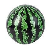 Frotox juego subacuático piscina sandía pelota hinchable 9 pulgadas juguete de agua inflable, sandía verde