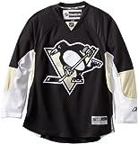 Reebok NHL Eishockey Trikot Jersey Premier Pittsburgh Penguins Black blank (L)