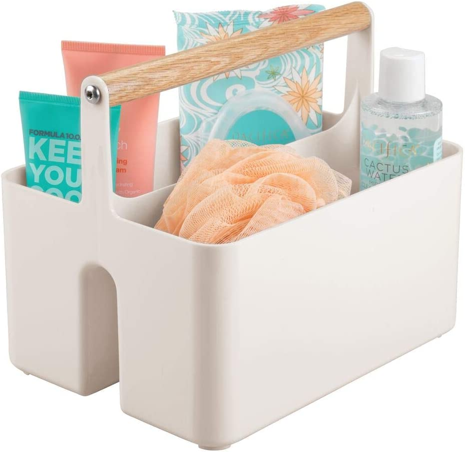 mDesign Rare Plastic Portable Storage Organizer Caddy D Utility Outlet SALE Tote