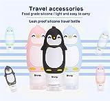 Zoom IMG-2 jascherry pinguino bottiglie da viaggio