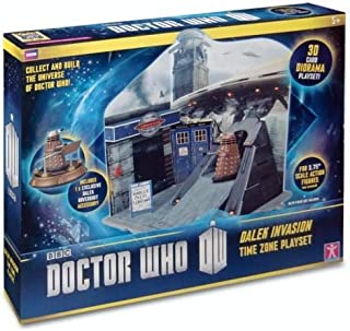 Doctor Who Cold War Time Zone Playset - Ages 5+ by Underground Toys