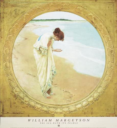 William Henry Margetson - The Sea 27.25 Its 29.75 Super beauty product restock quality top x Ranking TOP9 Pearls Hath