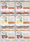 Resource 2.0 fibre - 3 Sorten Mischkarton mit 24 Flaschen, Geschmacksrichtungen: 8x Vanille 8x Erdbeere und 8x Multifrucht - im exclusiven ConsuMed Bundle