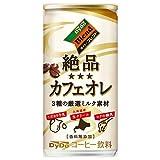 ダイドー 絶品カフェオレ 185g缶×30本入