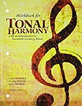 Best workbook for tonal harmony 7th edition Reviews