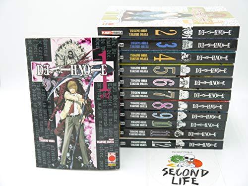 Death Note da 1 a 12 Serie Collezione Completa - Planet Manga Second Life