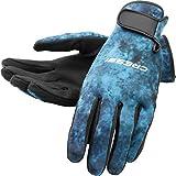Cressi Tropical 2mm gloves, blue hunter, S