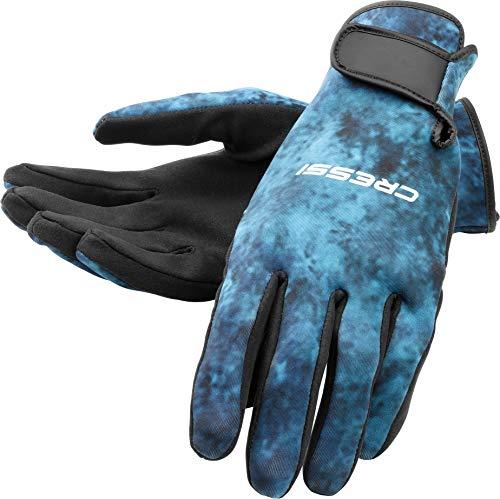 Cressi Tropical 2mm gloves, blue hunter, XL