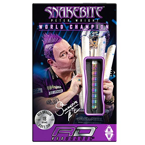 Red Dragon Peter Wright Snakebite 1 Softdarts - 2