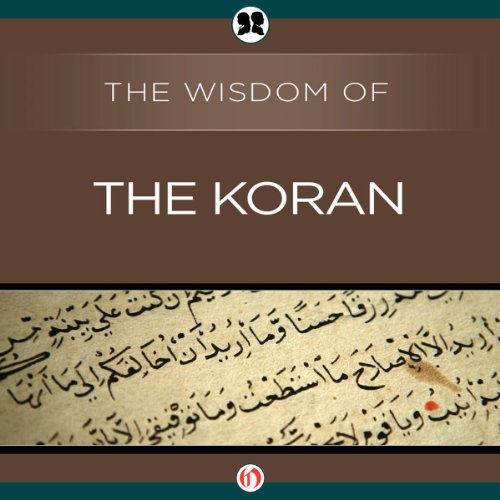 Wisdom of the Koran audiobook cover art