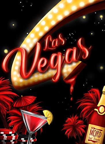 MORD bei Tisch - Krimi-Dinner für zu Hause - 5 bis 7 Personen - Der Las Vegas Fall