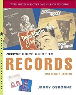 The Official Price Guide to Records, 18th Edition
