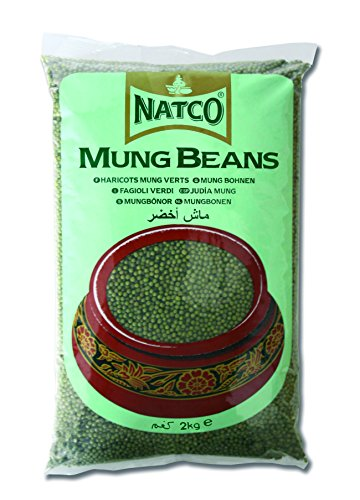 Natco Green Whole Moong Beans 2 Kg
