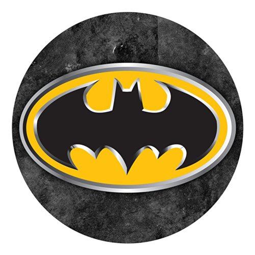 OBLEA de Papel de azúcar, 19 cm, diseño de Batman
