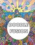 Doodle fusion: Livre de Coloriage Doodle art Kawaii, Coloriage Graffiti et Gribouillages de petits monstres et animaux, Coloriage feutre, ... relief pour adulte - Livre d'activités Gato