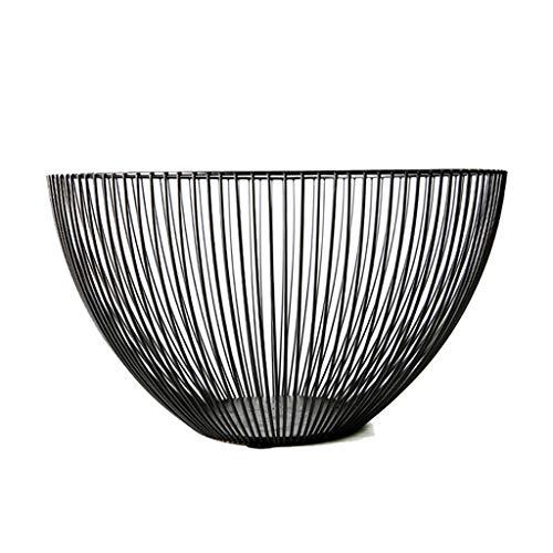 DWQ Modern Metal Fruit Vegetable Storage Bowls Kitchen Egg Baskets Holder Nordic Minimalism Fruit Bowl