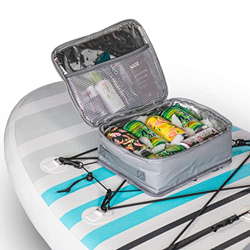 SUP-NOW Paddleboard Accessories Cooler & Deck Bag in One V2 (Gray Small) is $31.99 (16% off)