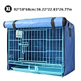 <span class='highlight'><span class='highlight'>heresell</span></span> Dog Crate Or Cage Cover Portable Puppy Dog Pet Cat Rabbit Crate Cage Tent Waterproof Sun-proof Pets Dog Indoor/Outdoor Crate Covers