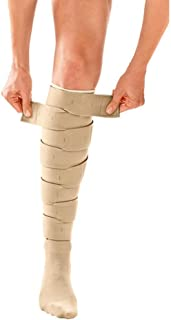 Circaid Juxtafit Essentials Lower Leg Ready to Wear Compression Garment, Compression For Enhanced Blood Flow to Reduce Pain Caused By Lymphedema or Other Circulation Issues, Long, Full Calf-Large