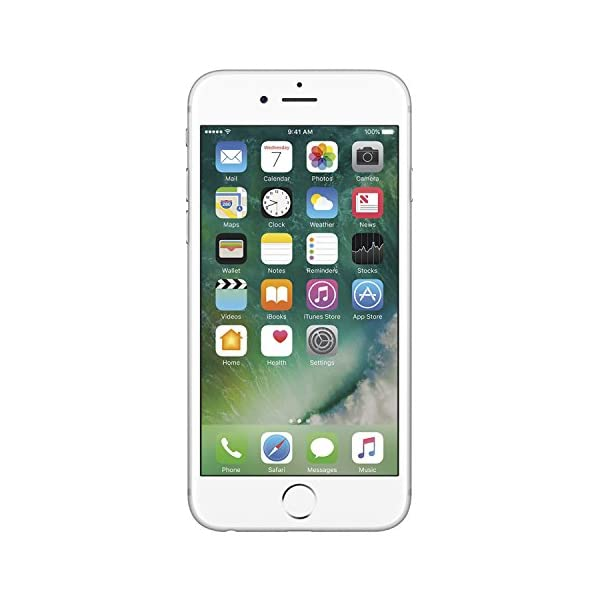 Apple iPhone 6s 32GB Unlocked GSM 4G LTE Dual-Core Phone w/ 12MP Camera - Silver Front Screen Display