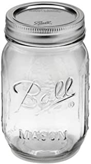 Ball Mason Jar 16oz Boca Regular (12 Pzas