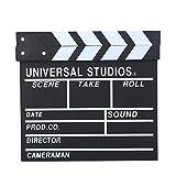 Claqueta de director, Claqueta de escena de director de madera Tablero de claqueta de película de...
