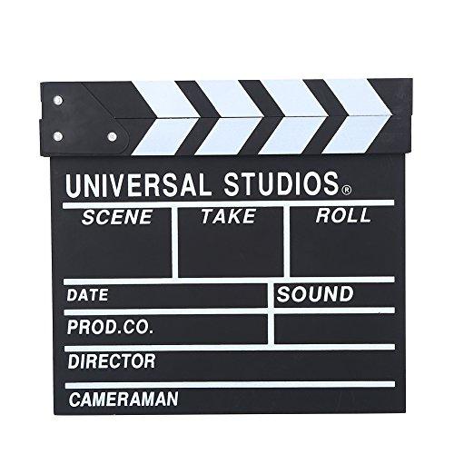Wosume Regista in Legno Scena Ciak TV Film Board Film Prop Prop