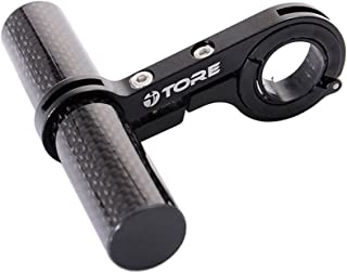 Aobiny Bicycle Extender Mount Handle 31.8MM Bike Flashlight Holder Handle Bicycle Accessories (Black)