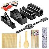 Furado Kit para Hacer Sushi,15 piezas Easy Sushi Maker Kit Tools,Herramienta de Sushi Casera Bricolaje,Kit de Fabricación de Sushi para Principiantes,Fácil de Limpiar y Usar,Para Casa y Principiantes