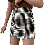 Faldas cortas de Corea japonesa 2020 cintura mini mujeres kawaii rosa cuadros plisado tenis casual Xd0511v0c 36