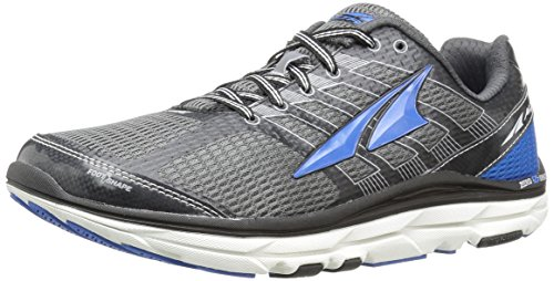 ALTRA 3.0 Men's Road Running Shoe, Charcoal/Blue, 8 M US