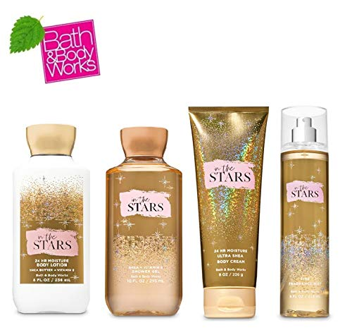Bath and Body Works IN THE STARS Gift Set - Body Lotion - Body Cream - Fragrance Mist & Shower Gel