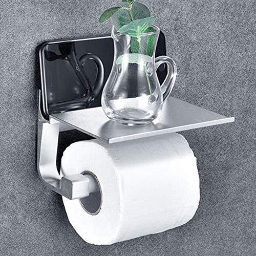Space Aluminium Tissue Holder WC Tissue Box Free Punch Toilette Wandhalterung für Handyhalter Rollenpapier